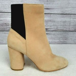 Dolce Vita Suede Ankle Boots Booties Pull-on 8.5M